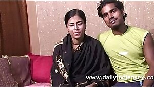 Fresh Video Indian Woman Hard Pussy Pounded BY Couple