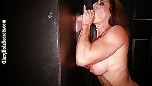 Sexy Babe finishes her fuck with huge cumshot in mouth