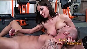 Milky HD Deep Slave Gets Dick in Mouth