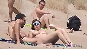 Real Sexy Guys Naked on the Beach