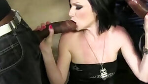 Veruca James Anal Fucked and Double Penetrated by Black Cocks